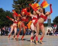 Народный танец стоковое фото