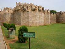 Наружные крепостные стены Стоковые Фото