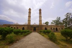 Наружный взгляд masjid ki Sahar стоковое фото rf