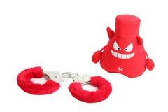 наручники дьявола Стоковая Фотография