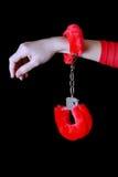 наручники мягкие Стоковые Изображения RF