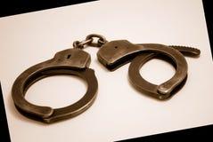 наручники Стоковое Изображение RF