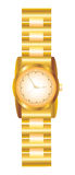 Наручные часы золота Стоковые Изображения RF