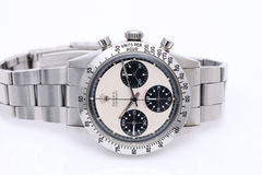 Наручные часы Rolex в окне дисплея Стоковая Фотография