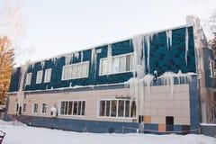 Нарушения в конструкции здания Стоковые Фото