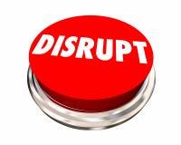 Нарушьте кнопку трясите вверх Innovate сделайте изменение Стоковое фото RF