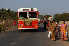 Население Мумбая Стоковые Изображения RF