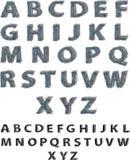 насиженный алфавит Стоковые Фото