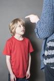 Насилие в семье Стоковые Изображения