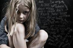 Насилие над ребенком Стоковые Изображения RF