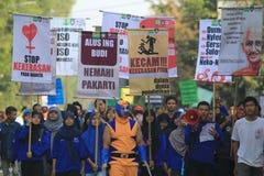 Насилие стопа кампании на детях Стоковое Изображение RF