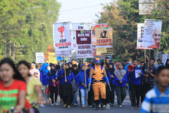 Насилие стопа кампании на детях Стоковое Фото