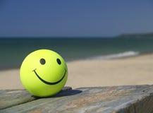 наслаждаться пляжа Стоковая Фотография