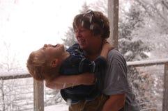 наслаждаться снежком Стоковое Изображение RF
