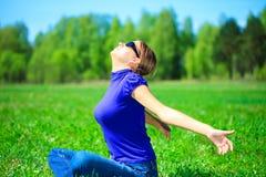 наслаждаться солнцем Стоковое фото RF