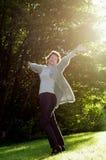 наслаждение осени Стоковые Фотографии RF