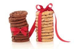 наслаждение печенья шоколада обломока Стоковые Фото