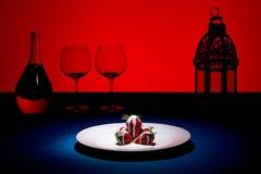 наслаждение ягоды Стоковая Фотография