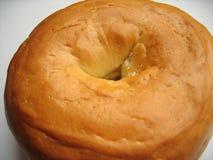 наслаждение bagel стоковая фотография rf