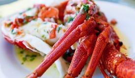 наслаждение crayfish Стоковое Фото