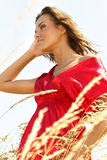 наслаждаться солнцем Стоковая Фотография RF