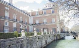 Наследие, сады города Аранхуэса, расположенного в Испании Sto стоковое изображение rf