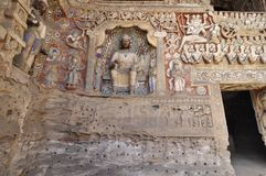 наследие grottoes datong фарфора культурное обнаружило местонахождение yungang мира Стоковые Изображения
