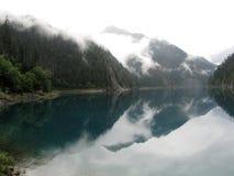 Наследие Jiuzhaigou-мира естественное Стоковая Фотография RF