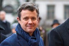 Наследный принц Дании Frederik стоковое изображение rf