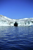 наслоенная лава айсберга стоковые фотографии rf