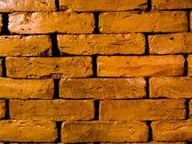 7 наслоенных застекленных кирпичей глины Стоковые Изображения RF