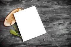 Насмешка журнала вверх по шаблону Стоковая Фотография RF