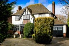 Насмешливый дом Tudor Стоковые Фотографии RF