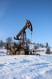 насос масла Россия индустрии Нефтедобывающая промышленность equipment Снаряжение для масла извлечения Стоковые Фотографии RF
