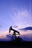 насос масла Россия jack извлечения Сибирь западный масло газовой промышленности Стоковое Изображение