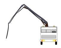 Насос машины конкретный также вектор иллюстрации притяжки corel бесплатная иллюстрация