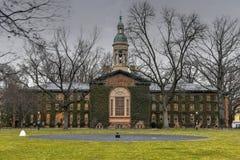 Нассау Hall - Принстонский университет стоковые фотографии rf