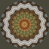 Настенная живопись, цифровой дизайн искусства Стоковые Фото