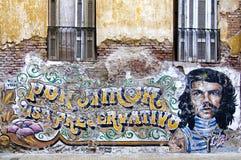 Настенная живопись Че Гевара Стоковое Изображение