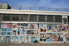 Настенная роспись в Бруклине Стоковое Изображение
