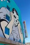 Настенная роспись в городском Лас-Вегас Стоковые Фотографии RF