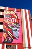 Настенная роспись в городском Лас-Вегас Стоковая Фотография RF