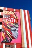 Настенная роспись в городском Лас-Вегас Стоковые Изображения