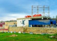 Настенная роспись на стене Стоковые Изображения
