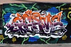 Настенная роспись переулка Osaoe работает Сан-Франциско, 16 Стоковые Фотографии RF