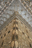 Настенные живописи дворца Джайпура янтарные Стоковая Фотография