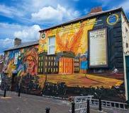 Настенные росписи Белфаста стоковое фото