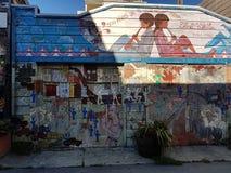 Настенные росписи в районе полета, Сан-Франциско Стоковое Изображение RF