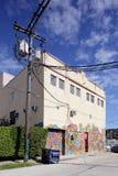 Настенные росписи искусства на Wynwood Стоковое Изображение