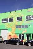 Настенные росписи искусства на Wynwood Стоковые Изображения RF